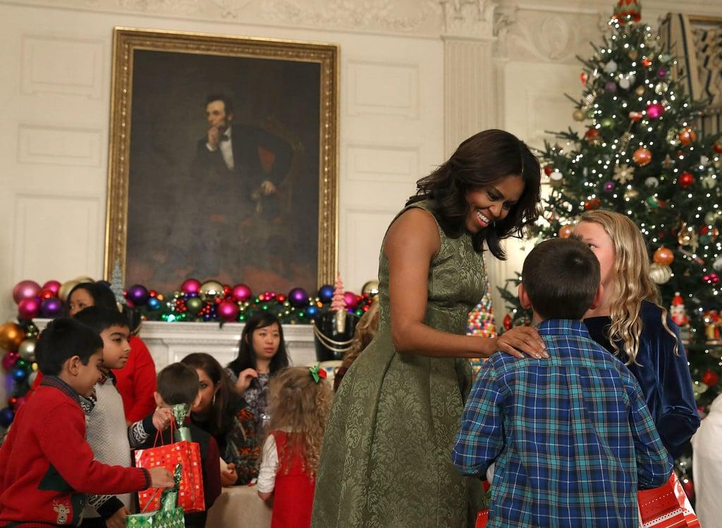 obama white house decorations 2015