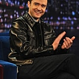 Justin Timberlake on Late Night With Jimmy Fallon Pictures