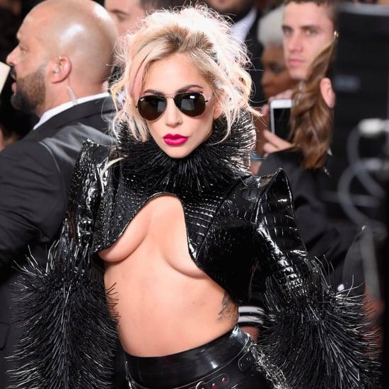 Lady Gaga at the 2017 Grammys