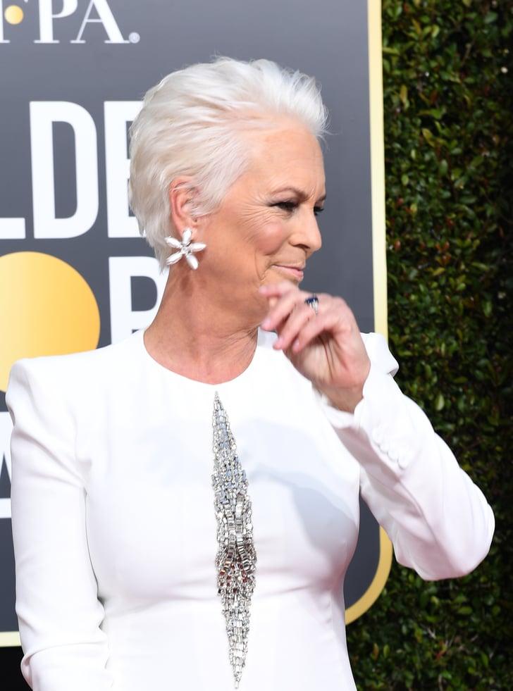 Jamie Lee Curtis Hair at the Golden Globes 2019 | POPSUGAR ...