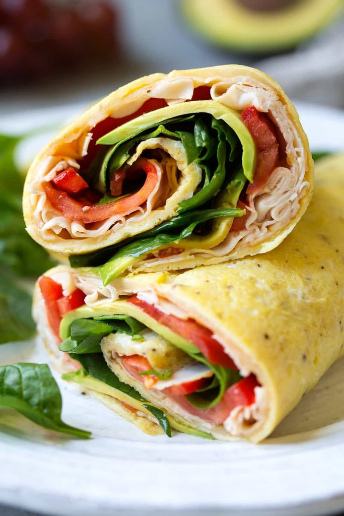 Turkey Avocado Egg Wraps