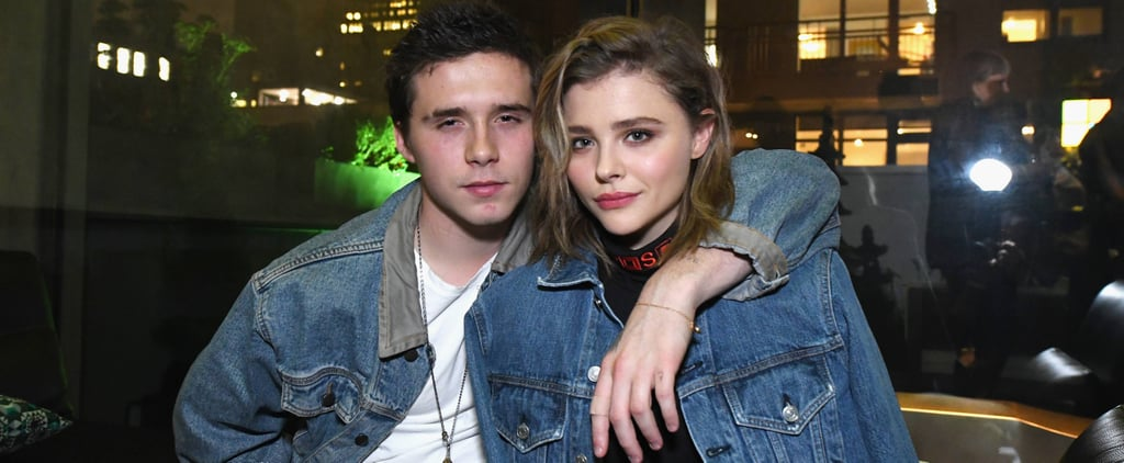 Chloe Grace Moretz's B Ring For Brooklyn Beckham