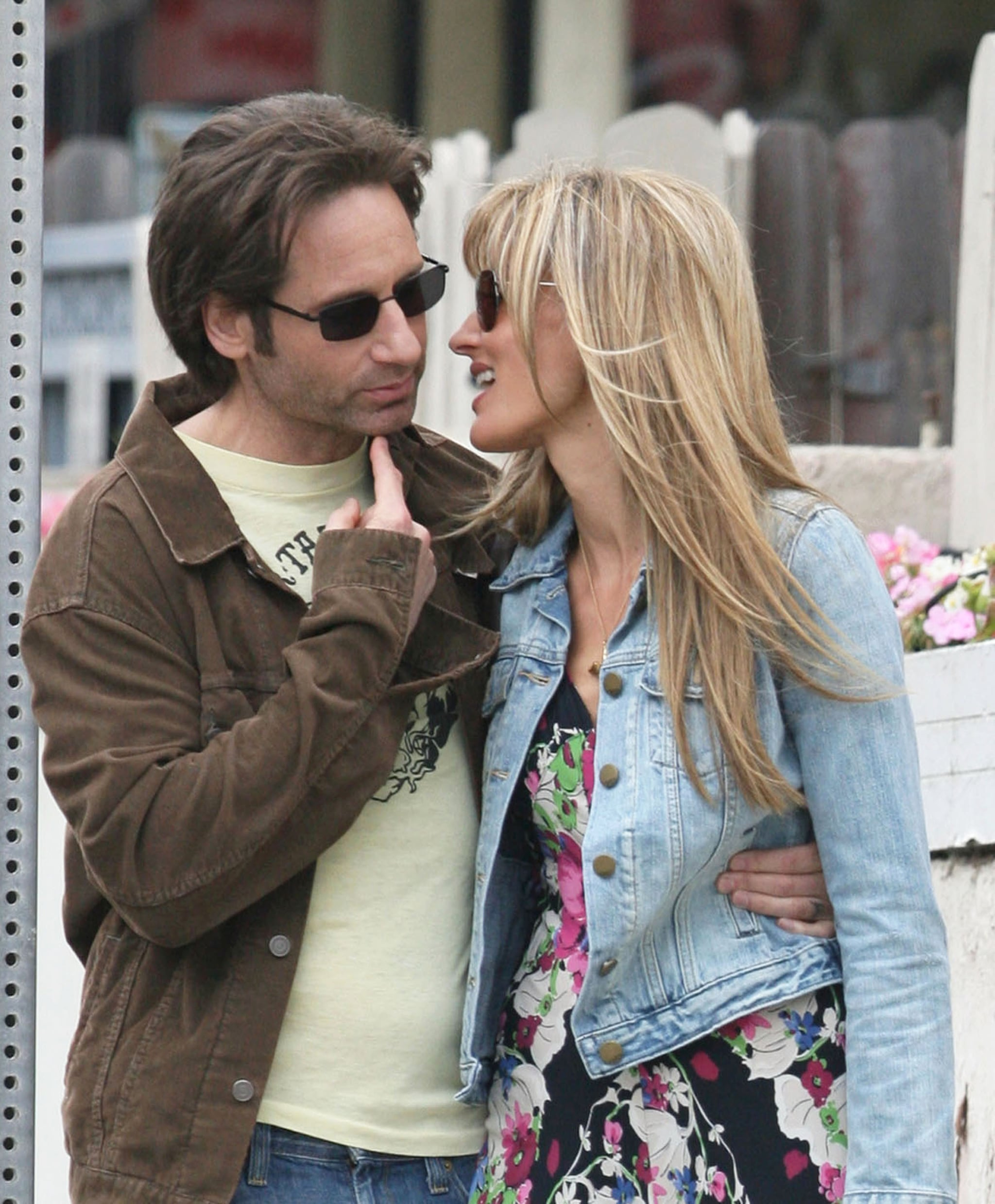celebrity & entertainment | david duchovny and natascha