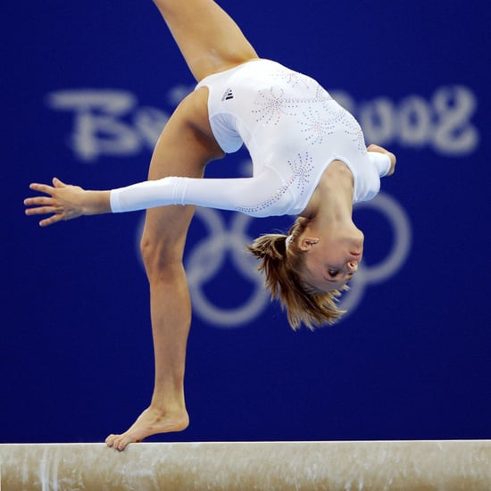 Nastia Liukin Practices on the Beam | May 2020