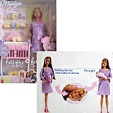 Barbie Happy Family Midge & Baby Doll Set ($125)