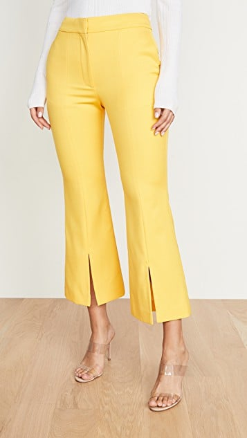 Adam Lippes Tropical Bell Crop Trousers