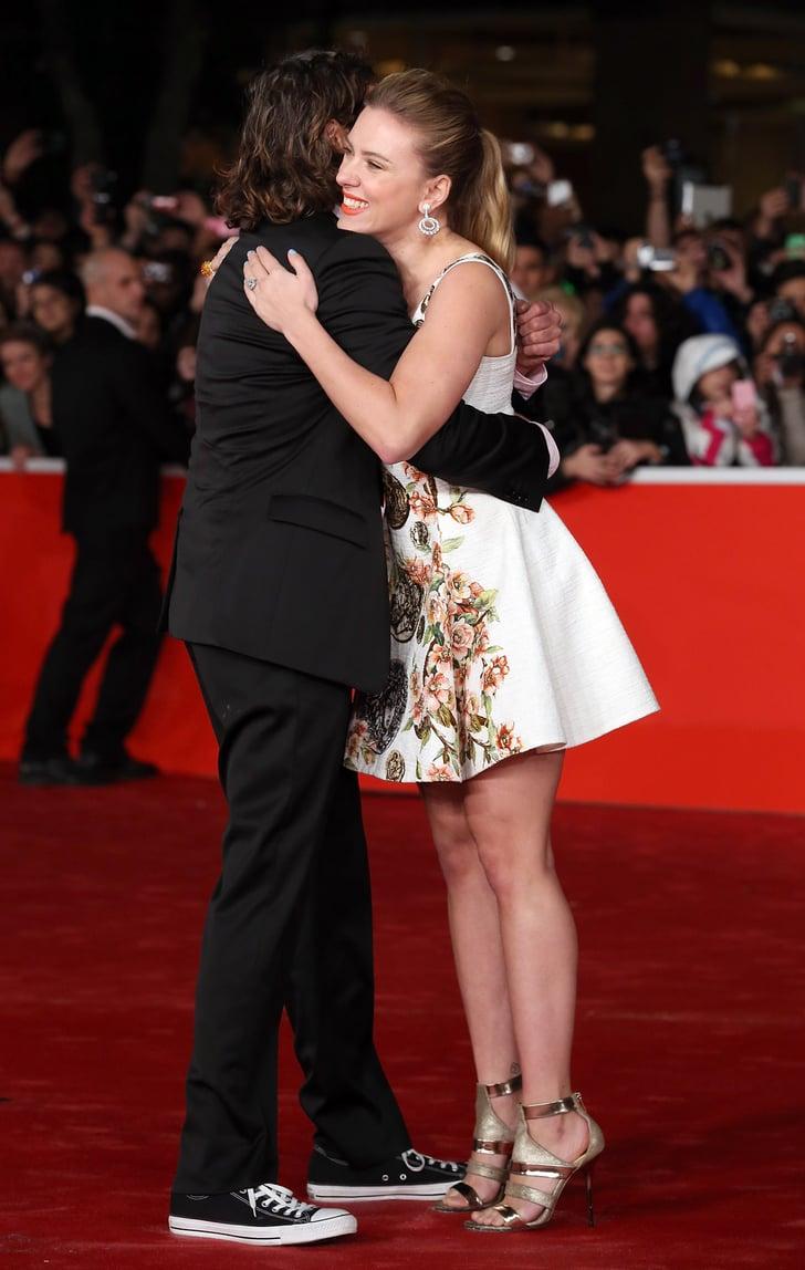Scarlett Johansson at Her Premiere in Rome | POPSUGAR ... скарлетт йоханссон
