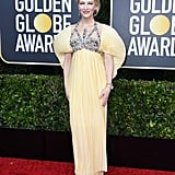 Cate Blanchett at the Golden Globes, 2020