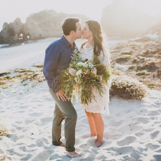 Beach Elopement Photos