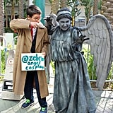The Doctor and a Weeping Angel — Doctor Who