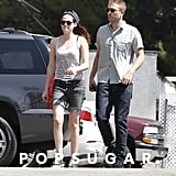 Robert Pattinson and Kristen Stewart grabbed sushi in LA.