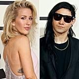 Ellie Goulding and Skrillex at the Grammys