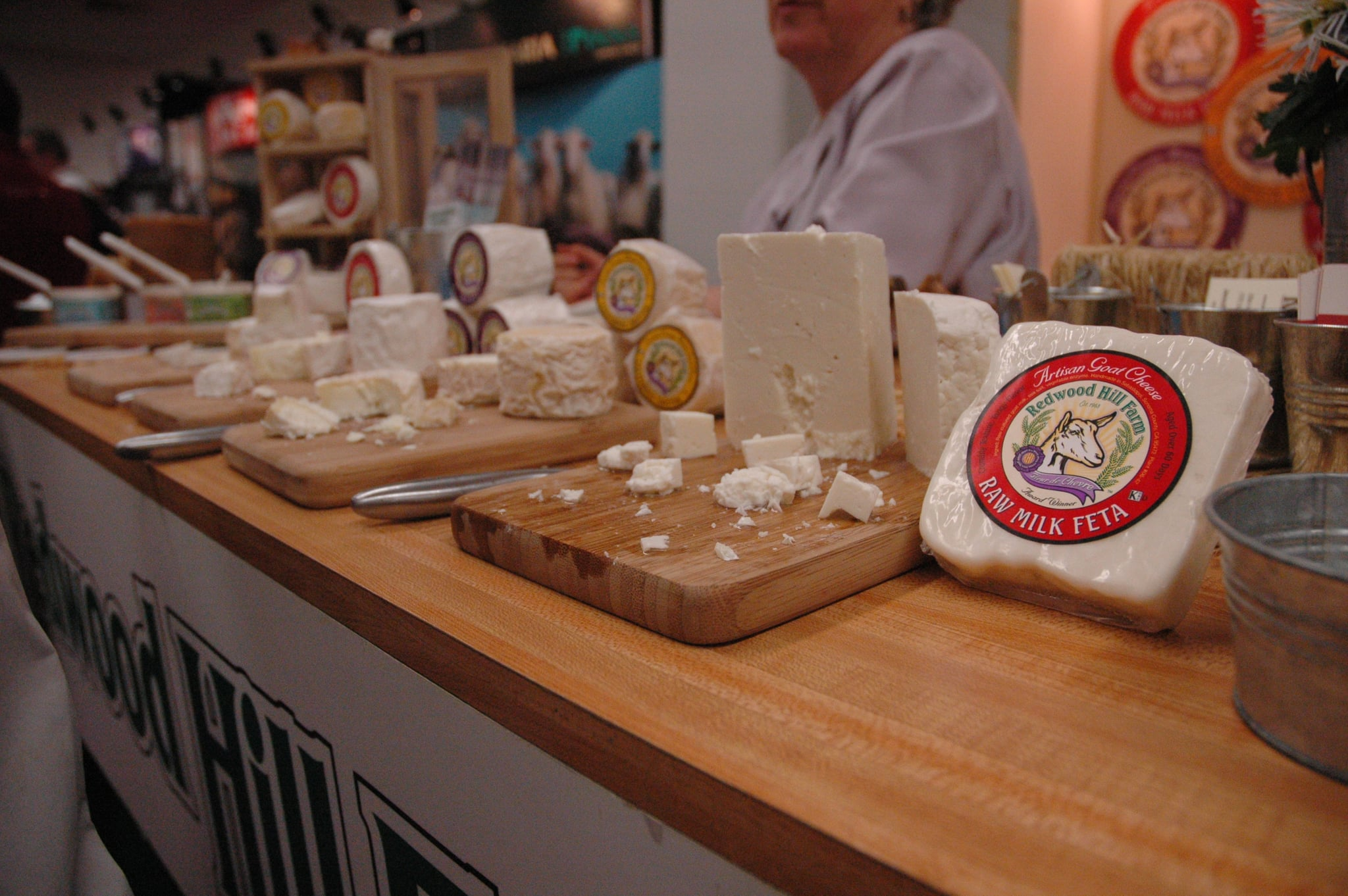 2007 Winter Fancy Food Show - Part 2 (Goat Cheese!)