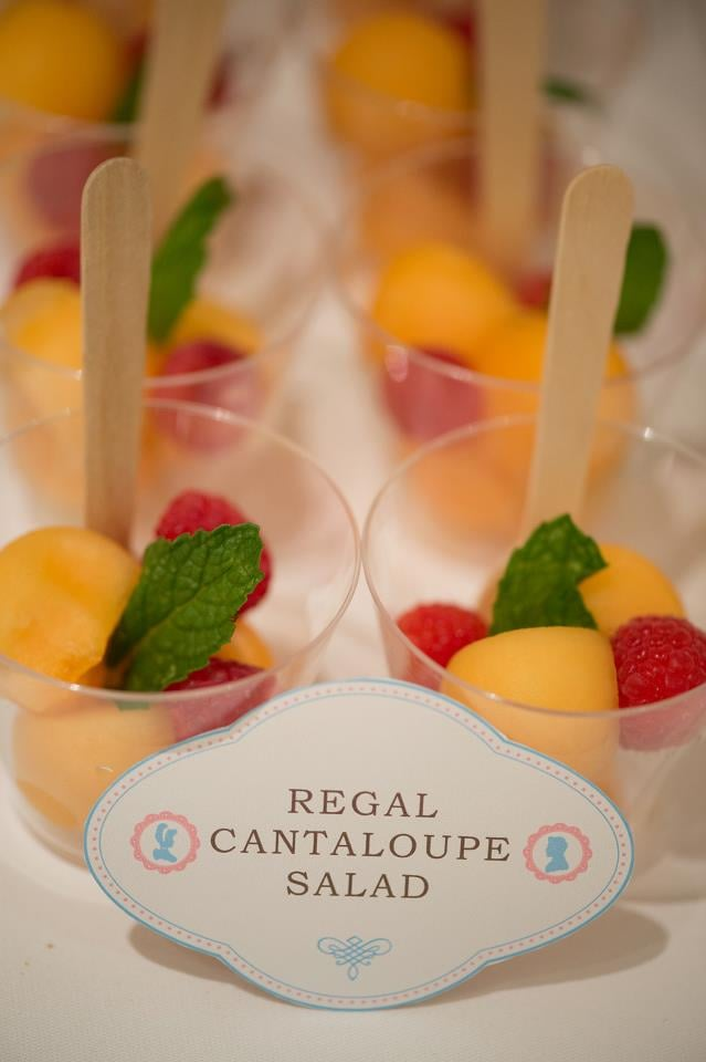 Regal Cantaloupe Salad