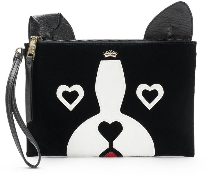Juicy Couture French Bulldog Wristlet ($39)