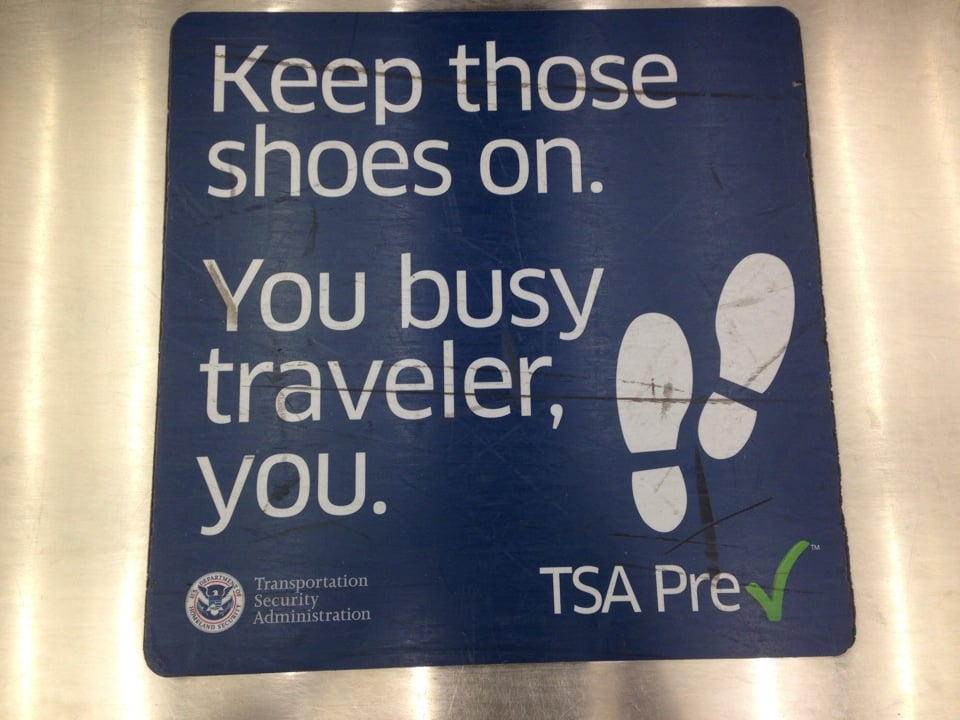 Sign Up For TSA Precheck or Global Entry