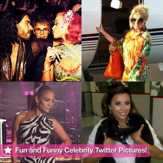 Jessica Simpson, Jennifer Lopez, Eva Longoria, and More in This Week's Fun and Funny Celebrity Twitter Pictures!