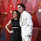 Timothée and His Mom