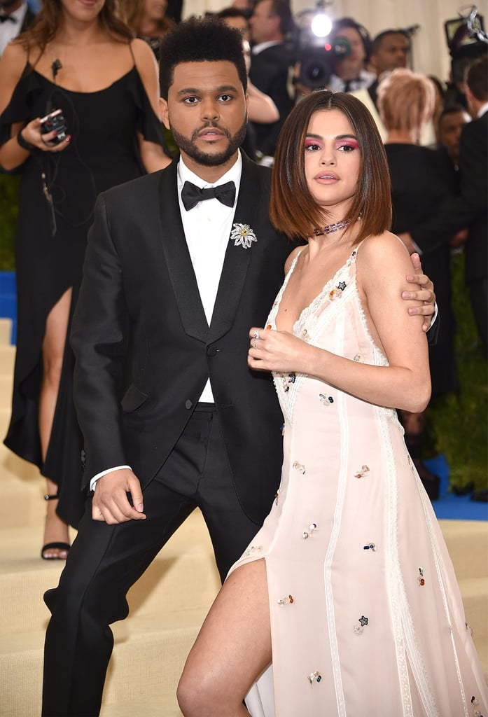 Bella Hadid Selena Gomez and The Weeknd at 2017 Met Gala