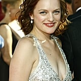 Elisabeth Moss at the 60th Emmy Awards