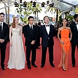 The cast of  Madagascar 3: Europe's Most Wanted got together for a photo in Cannes.