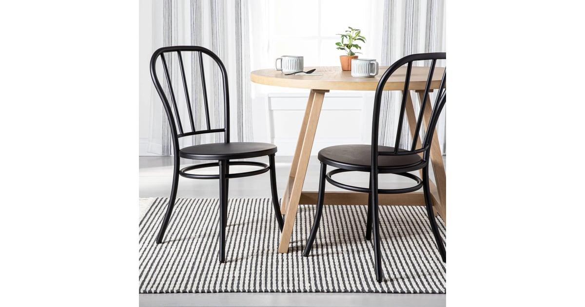 Hearth & Hand Set of 2 Steel Bistro Dining Chair | Best ...