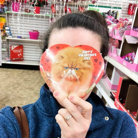 Mom Buying Class Valentines For Her Kids Last Minute
