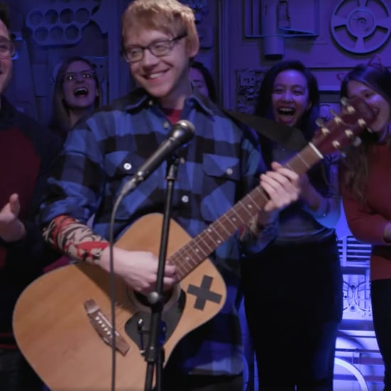 Rupert Grint's Ed Sheeran Skit on MTV Video