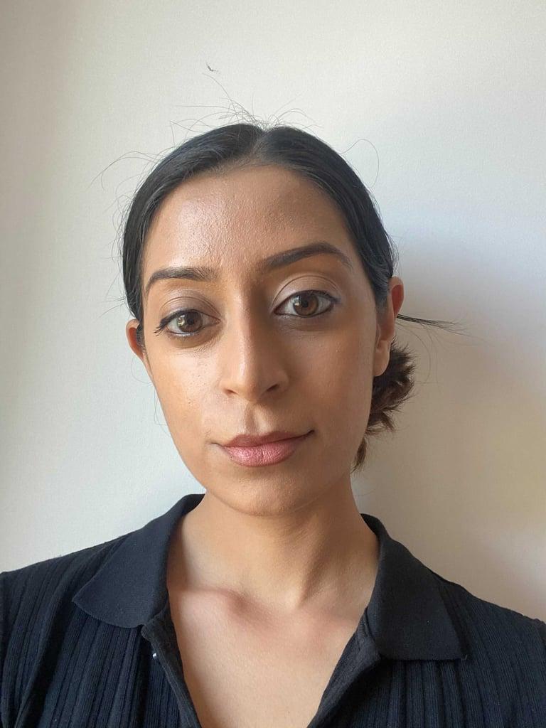 Navi Wearing Fenty Beauty Eaze Drop in Shade 11