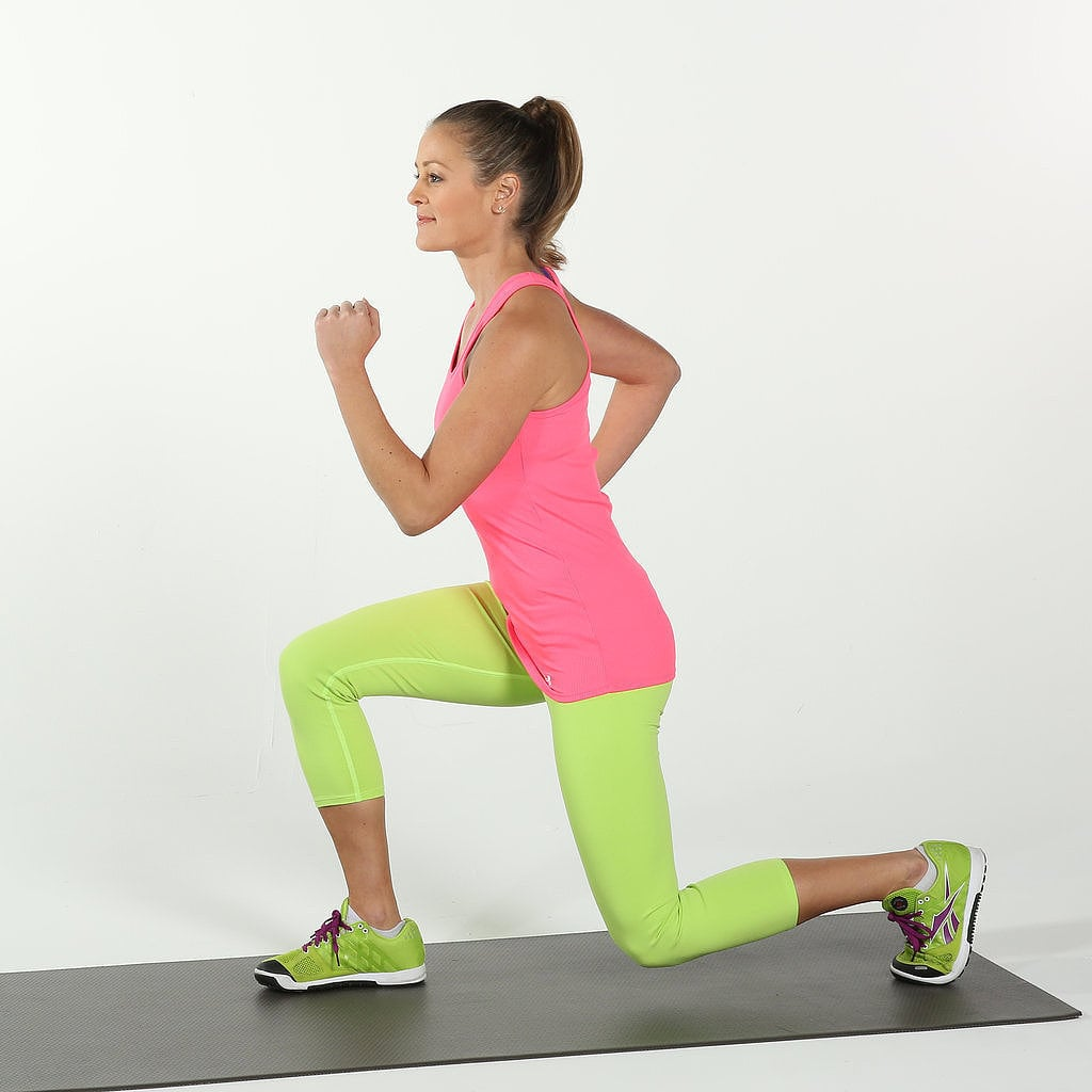 Full Body Circuit Workout To Strengthen Legs Abs And Arms One Healthy Breakdown Do This A Few Times Week For Strong Popsugar Fitness Australia