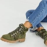 ASOS Design Wide Fit Avenue Hiker Boots