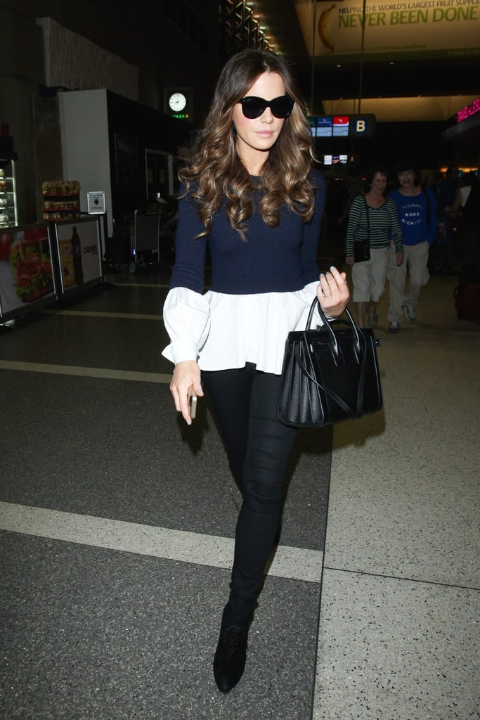 Kate Beckinsale's Trip to LAX Looks Like It's Straight Out of an Editorial