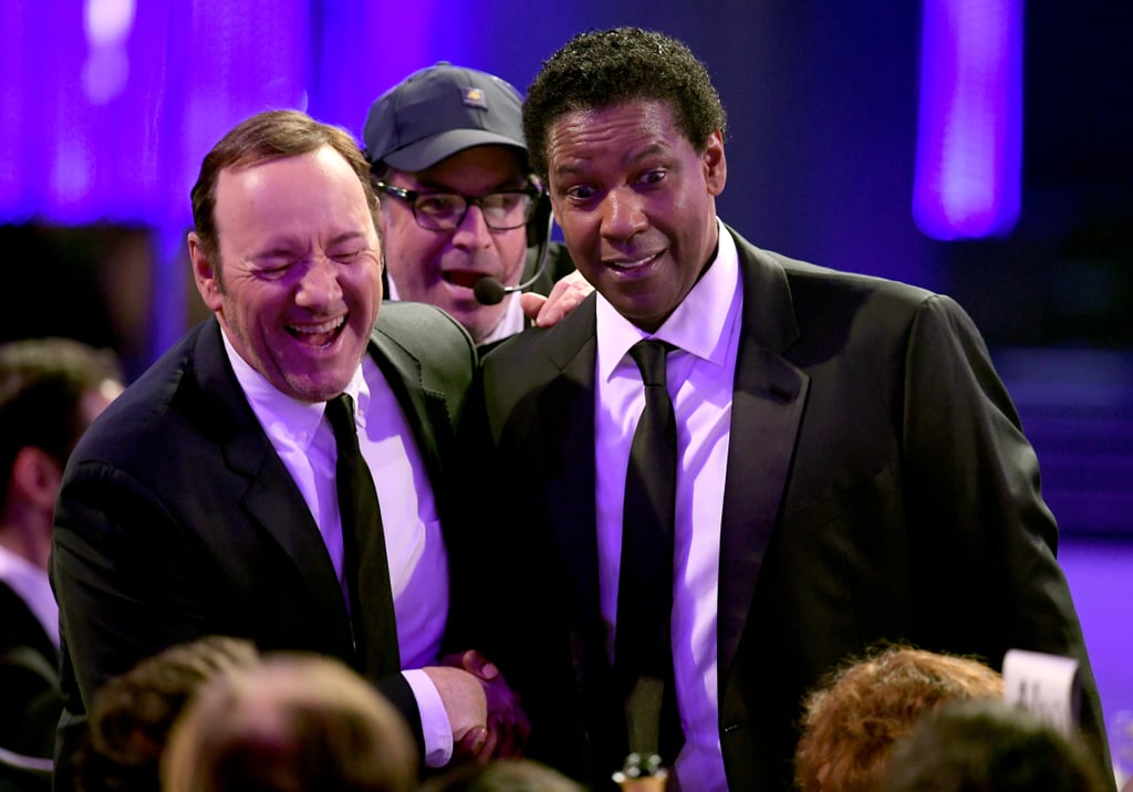 Pictured: Kevin Spacey, Denzel Washington