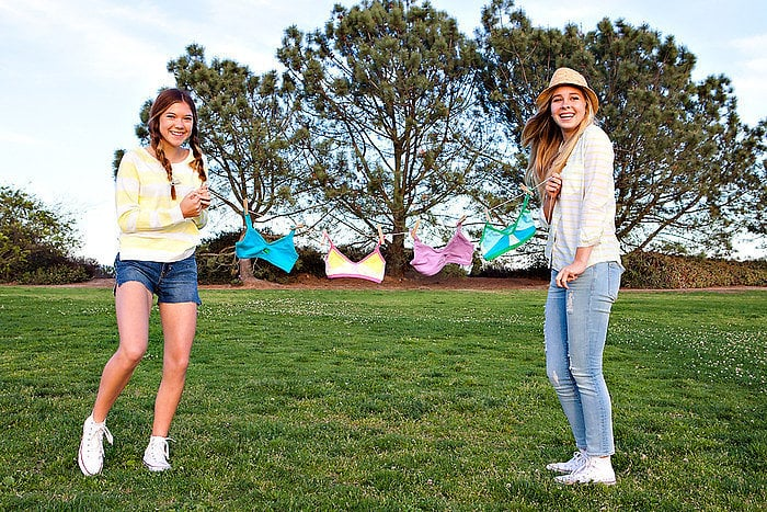 A Fashionable Line of Bras For Teens, by Teens