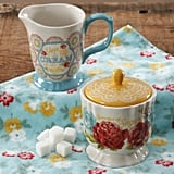 The Pioneer Woman Blossom Jubilee Creamer and Sugar Pot Set ($9)