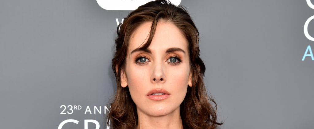 Alison Brie's Hair and Makeup at 2018 Critics' Choice Awards