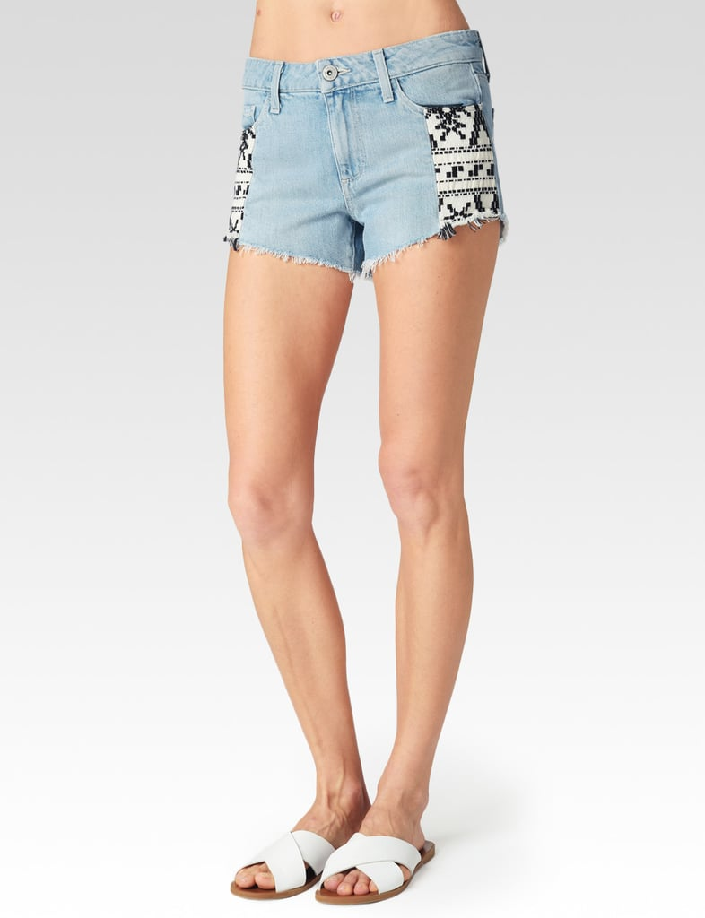 """The """"worn in"""" wash makes this pair of shorts by Paige ($169) feel like a vintage find."""