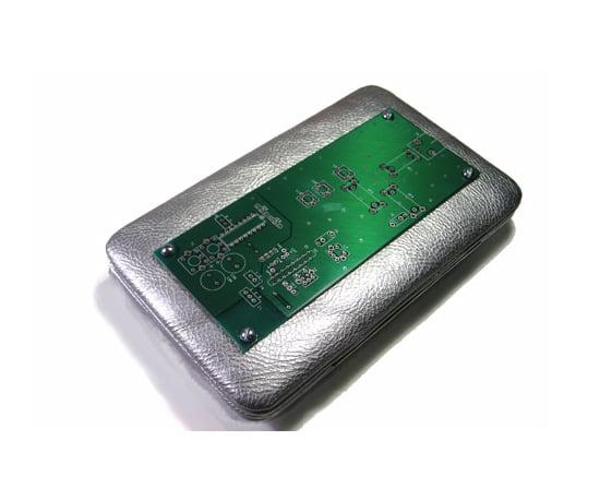 Circuit Board Clutch Purse