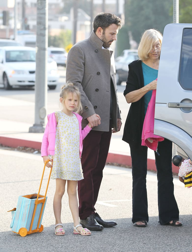 Ben Affleck took his daughter out in LA.