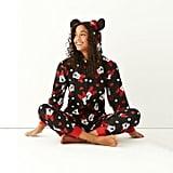 Disney One-Piece Hooded Pajamas