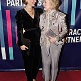 Sarah Paulson and Holland Taylor at Literacy Partners Gala