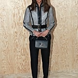 Alicia Vikander at the Louis Vuitton Paris Fashion Week Show