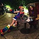 Behati Prinsloo as Rainbow Brite