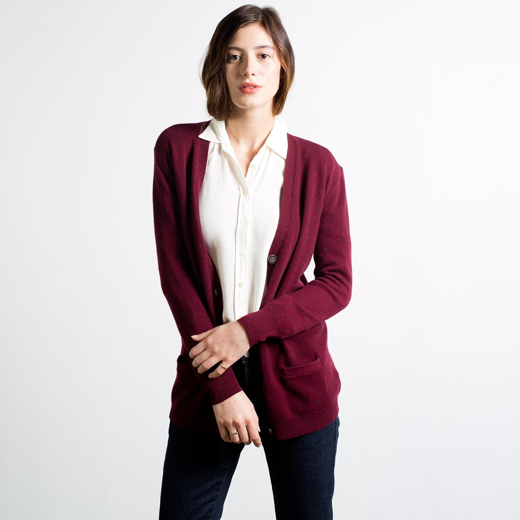 Everlane Slouchy Cashmere Cardigan Review | POPSUGAR Fashion