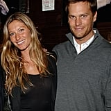 Gisele Bündchen and Tom Brady in 2008