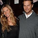 Gisele Bündchen et Tom Brady en 2008