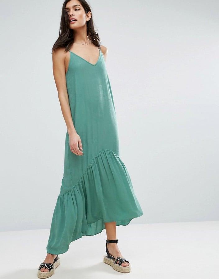 Amal Clooney Wearing Stella McCartney Green Maxi Dress | POPSUGAR ...