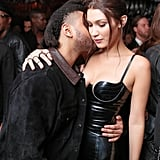 Pictured: Bella Hadid and The Weeknd