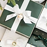 Green Gift Wrapping Trio