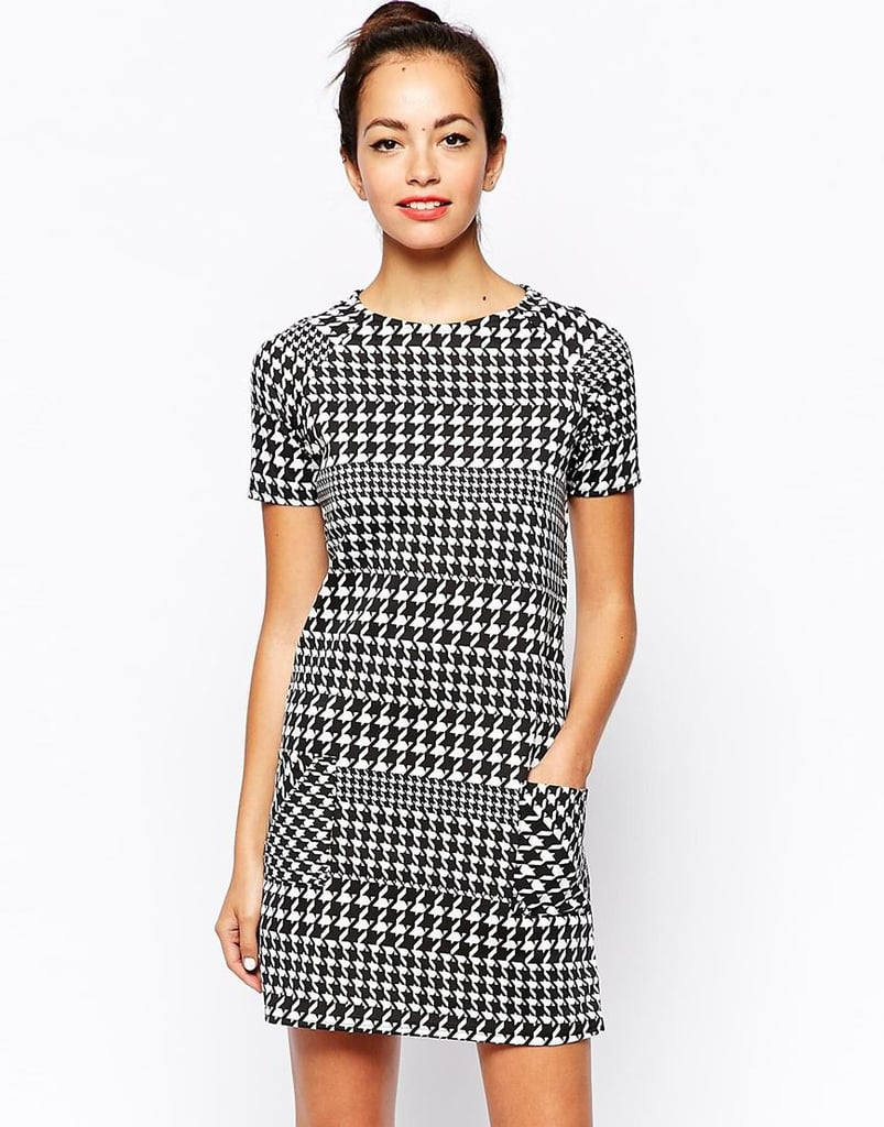New Look Houndstooth Dress